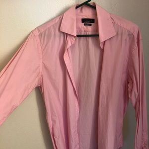 Zara Mens Button Down (Pink)